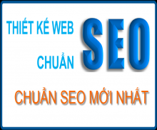 Tư vấn, thiết kế website chuẩn SEO mới nhất 2017